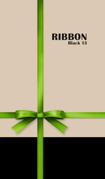 Ribbon/Black 13