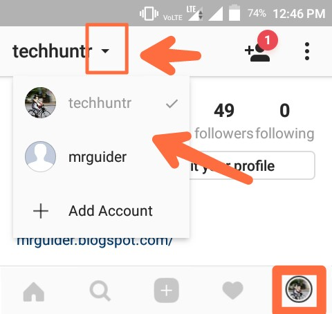 How To Add Multiple Accounts In Instagram And Easily Switch Between