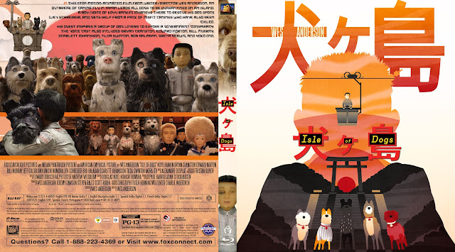 Isle Of Dogs Bluray Cover