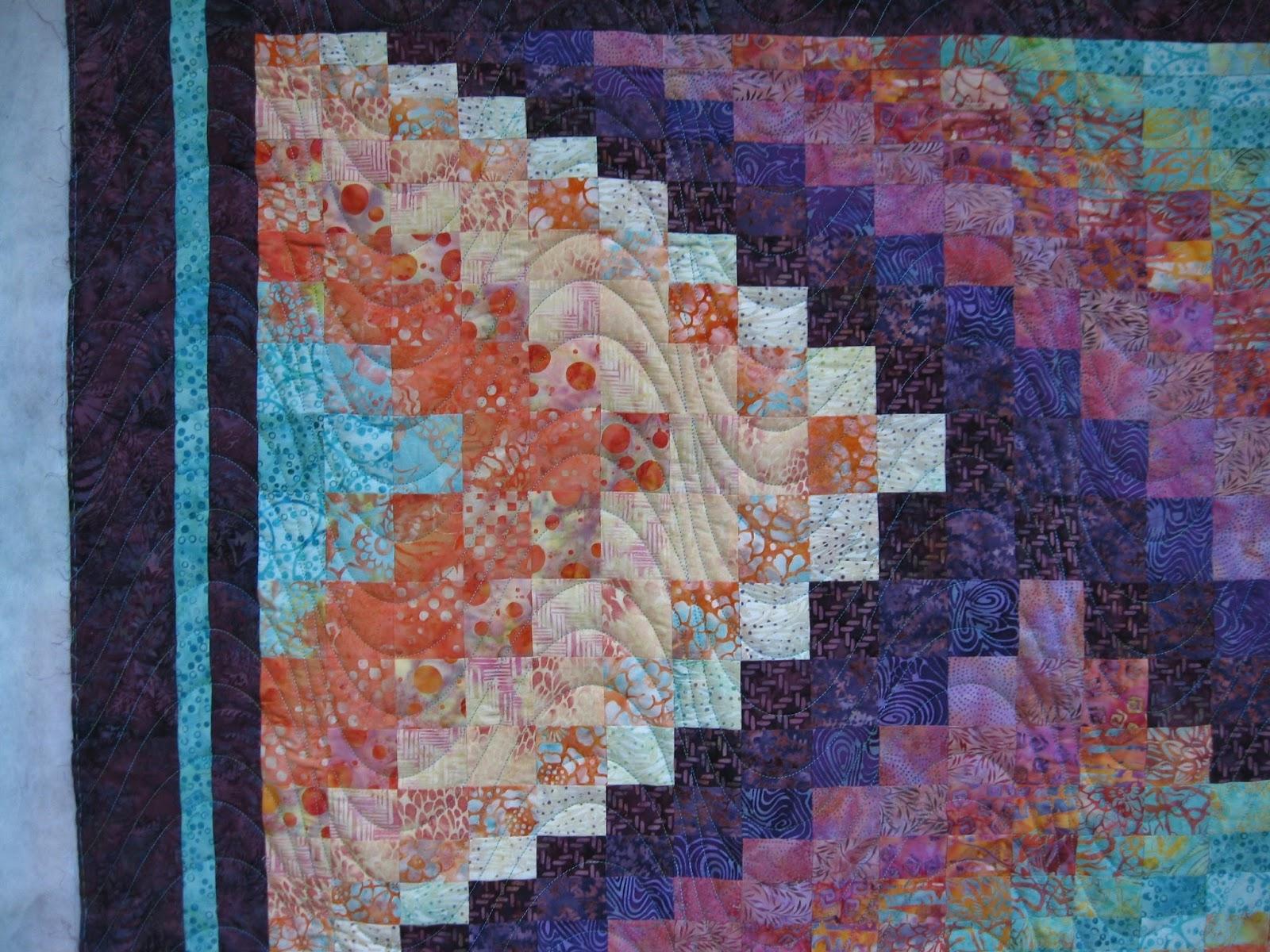 Bargello Wave Quilt Pattern