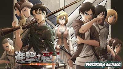 Shingeki No Kyojin Season 3 12/12 Audio: Japones Sub: Español Servidor: Mega/Mediafire