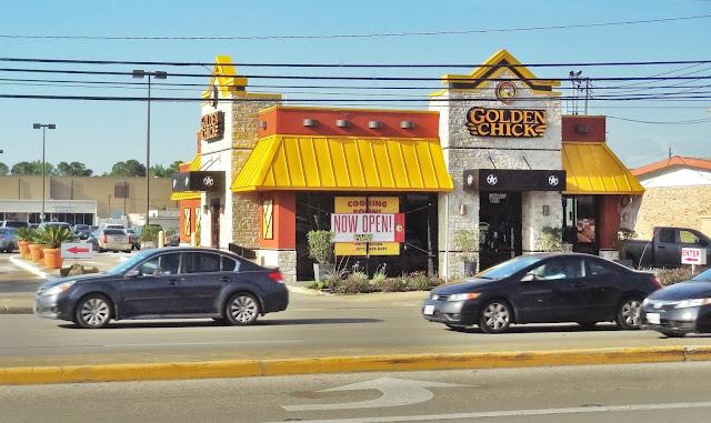 Golden Chick restaurant on Westheimer - Opened in 2016