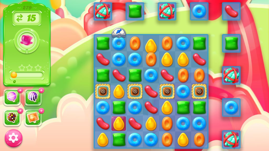 Candy Crush Jelly Saga 279