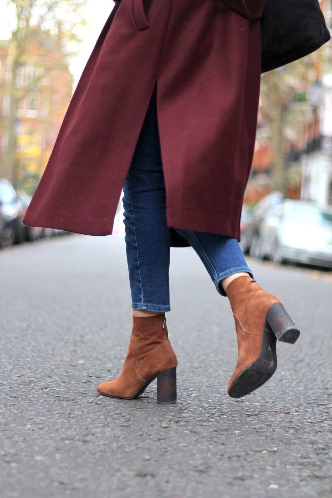 next brown ankle boots peexo style