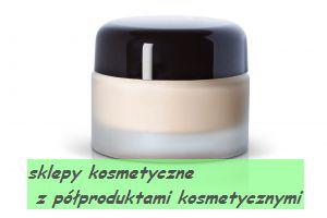 Nowinki kosmetyczne - sklepy internetowe  z półproduktami kosmetycznymi