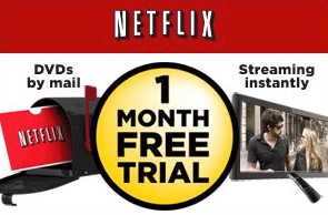 Netflix offers free trial for one month