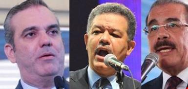 Luis Abinader le gana a Leonel y a Danilo: Según encuesta un 64% estima posible vencer al PLD en 2020