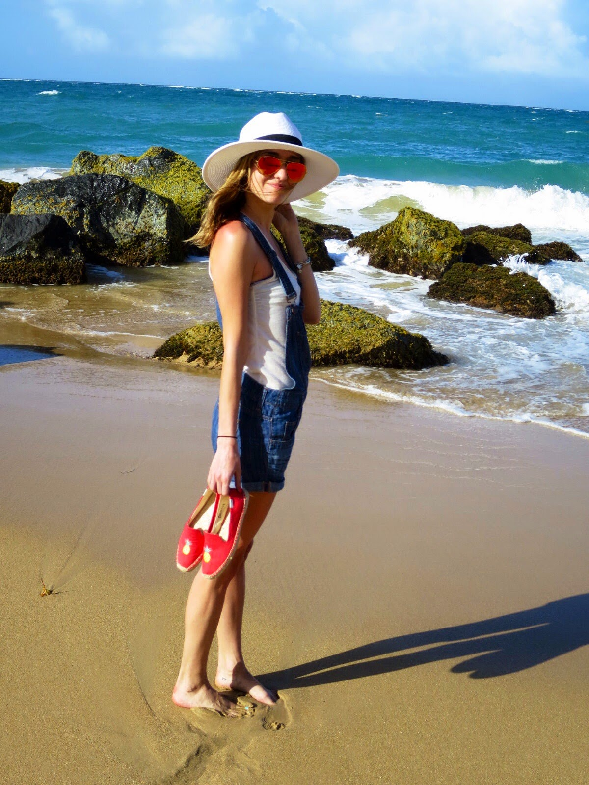 Puerto Rico beach outfit