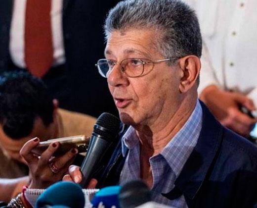 El diálogo será con ¿Maduro o Padrino López?, pregunta Ramos Allup