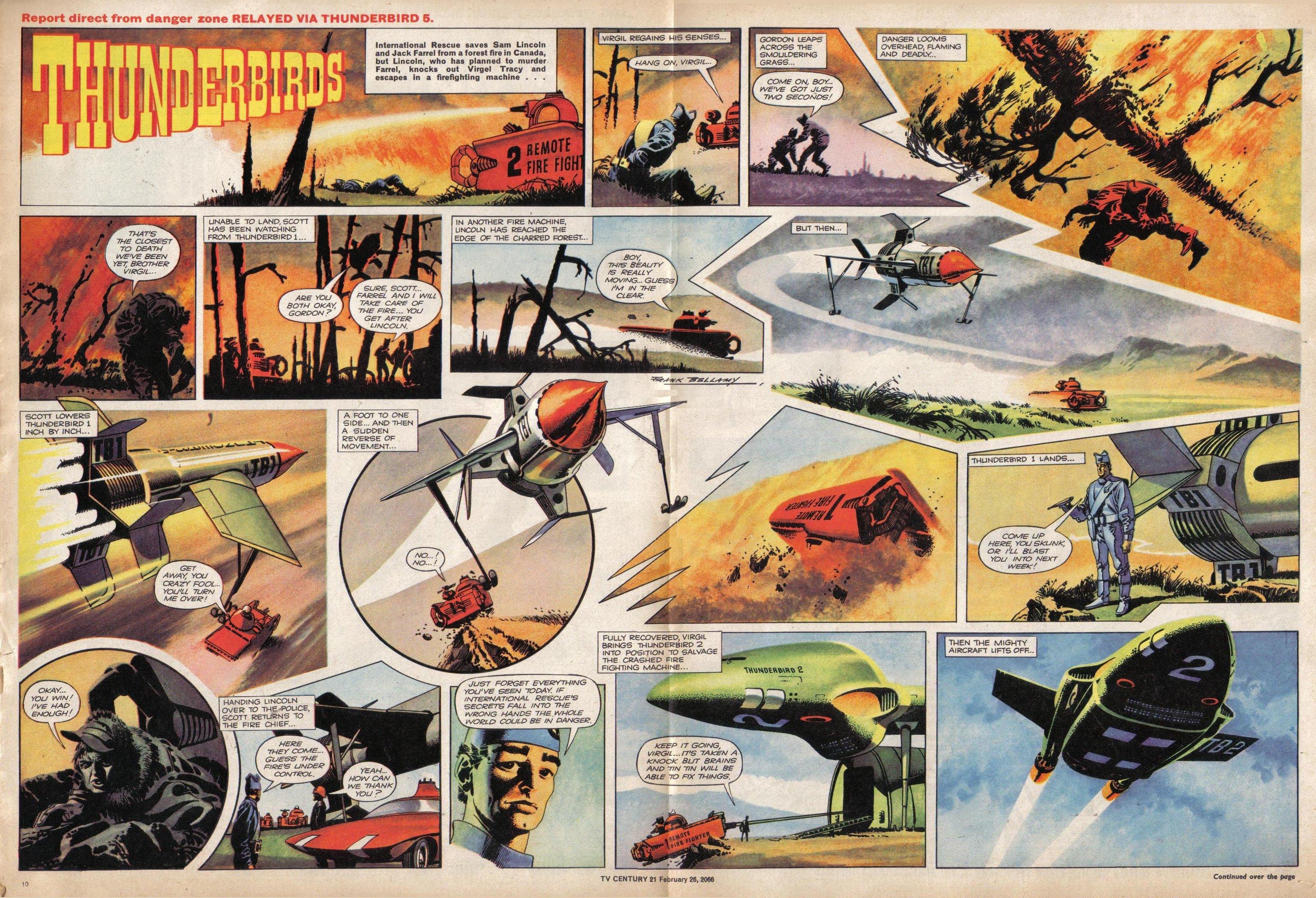 Read online TV Century 21 (TV 21) comic -  Issue #58 - 10