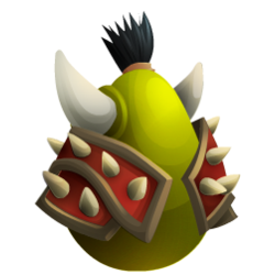 Appearance of Orc Dragon when egg