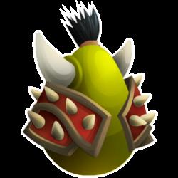 Das Erscheinen des Ei Ork Drache