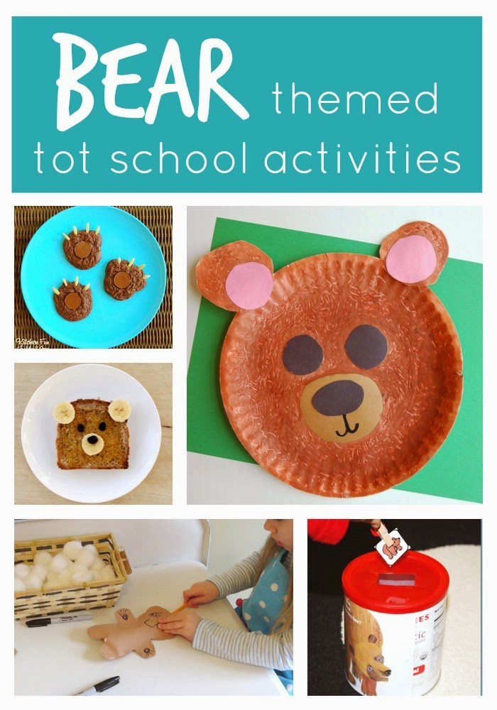 Bear Themed Crafts For Toddlers