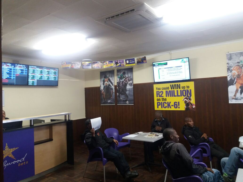 Hollywoodbets Estcourt - Horse Racing Betting Section - Kwa-Zulu Natal