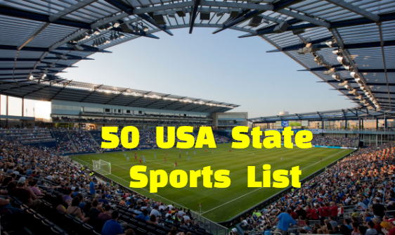 us state sport, official, national, us sport, , us stste Most Popular sports,Sports, games, Each USA State Sport