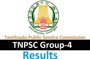TNPSC Group IV Results 2016
