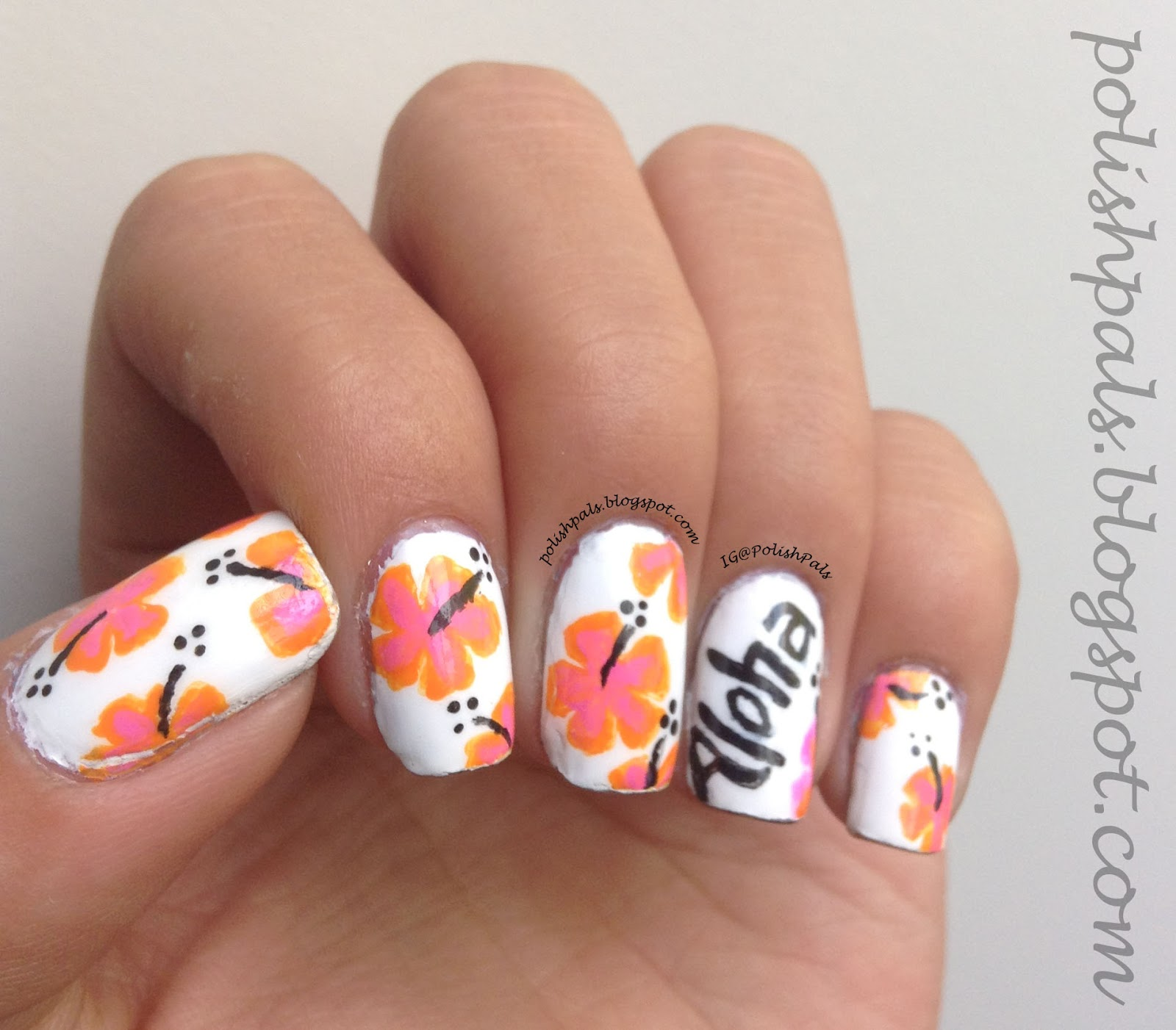 Hawaiian Nail Art | Joy Studio Design Gallery - Best Design