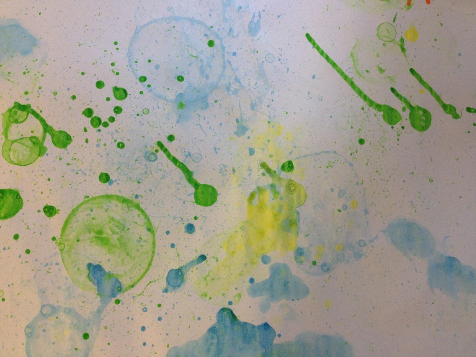 Arte con pompas de jabón