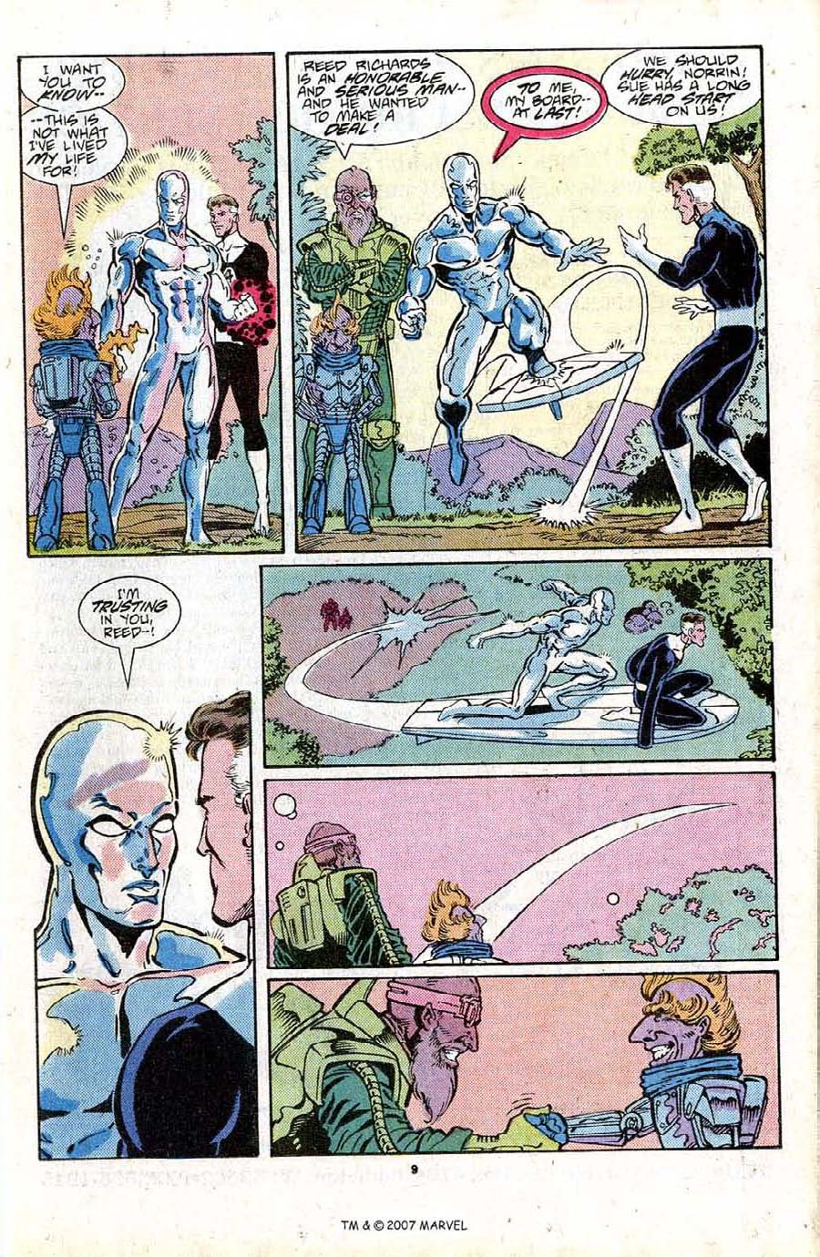 Read online Silver Surfer (1987) comic -  Issue #16 - 11