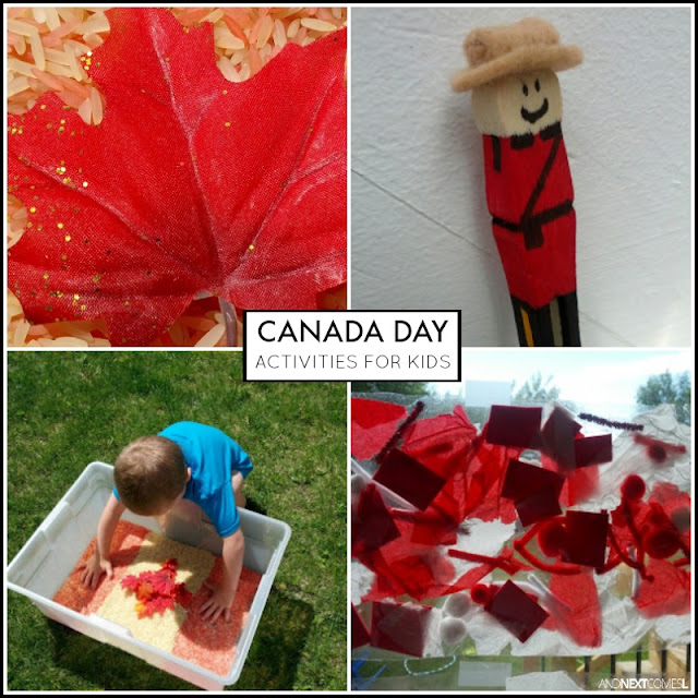 Canada Day activities and crafts for kids from And Next Comes L