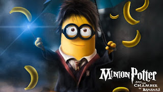 Minion Potter The Chamber of Bananas HD Wallpapers