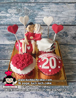 Cupcake Ulang Tahun dan Anniversary