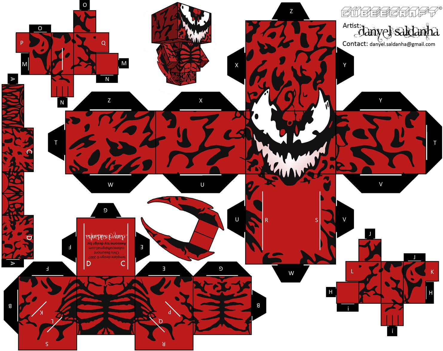 Spiderman Craft Paper