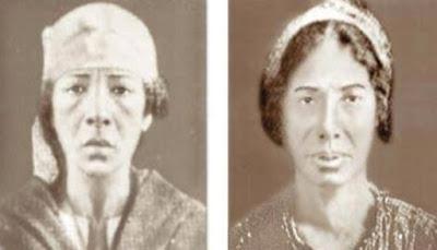مفاجأه مذهله : ظهور براءه ريا وسكينه بعد 90 عام من اعدامهم !!