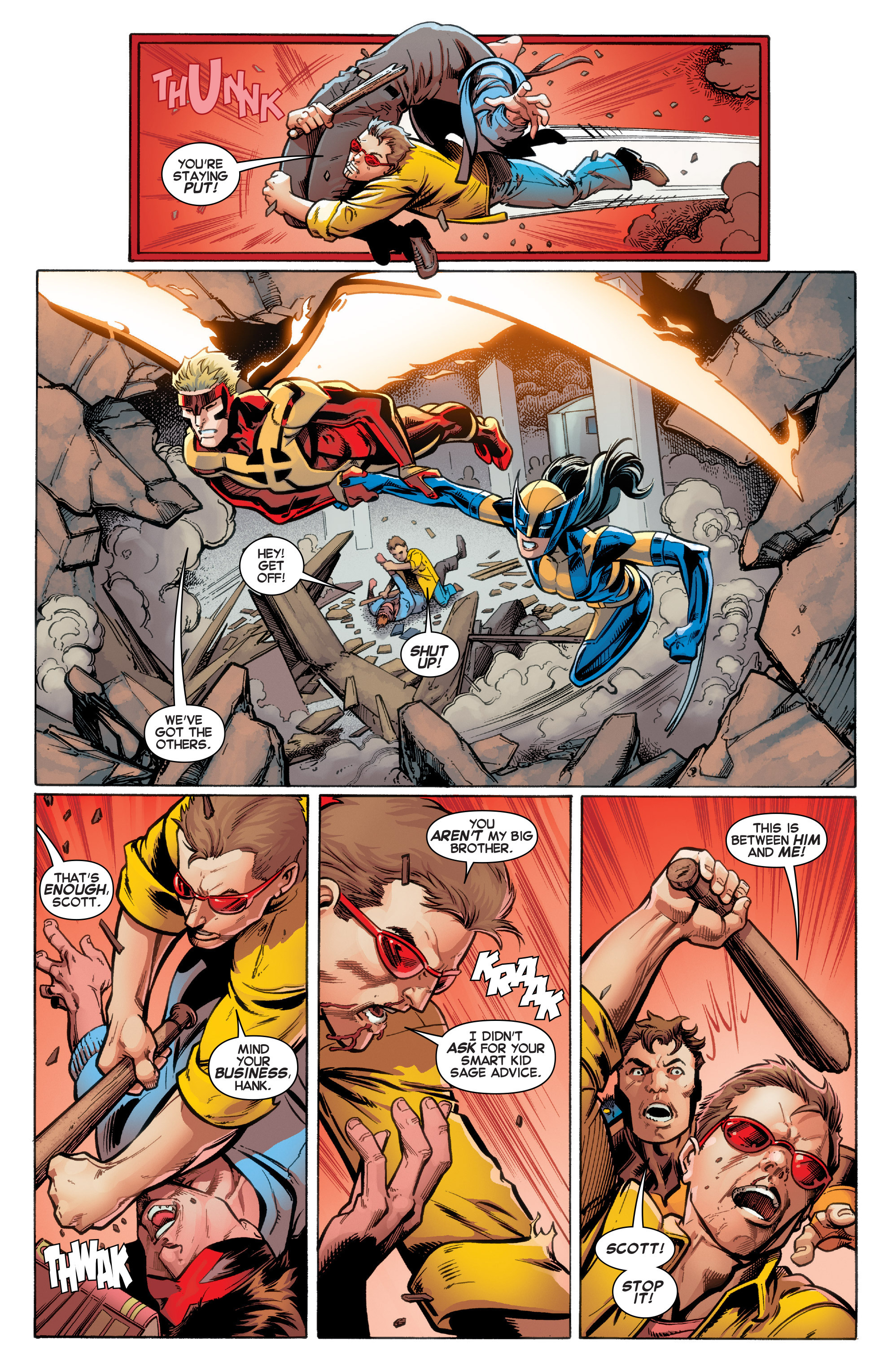 Read online All-New X-Men (2016) comic -  Issue #2 - 5