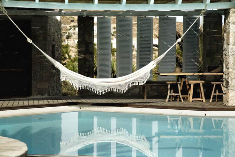 PUNTXET Hotel San Giorgio en Mykonos ¡Espectacular! #deco #decoracion #hogar #home #jardin #garden #exteriores #outdoor #estilobohemio #bohemianstyle #travel #hotel