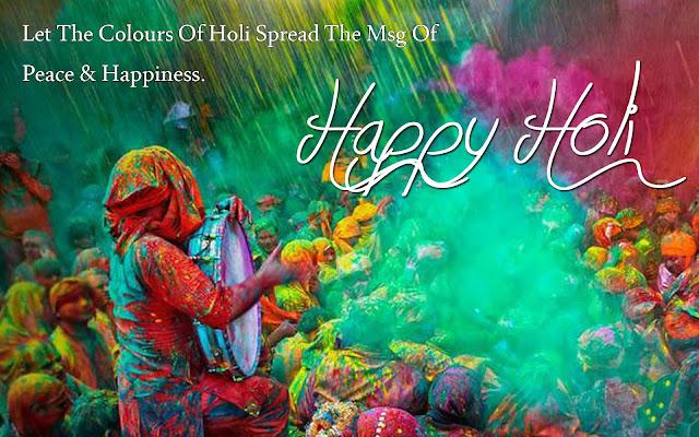 Happpy Holi 2016 HD Greetings