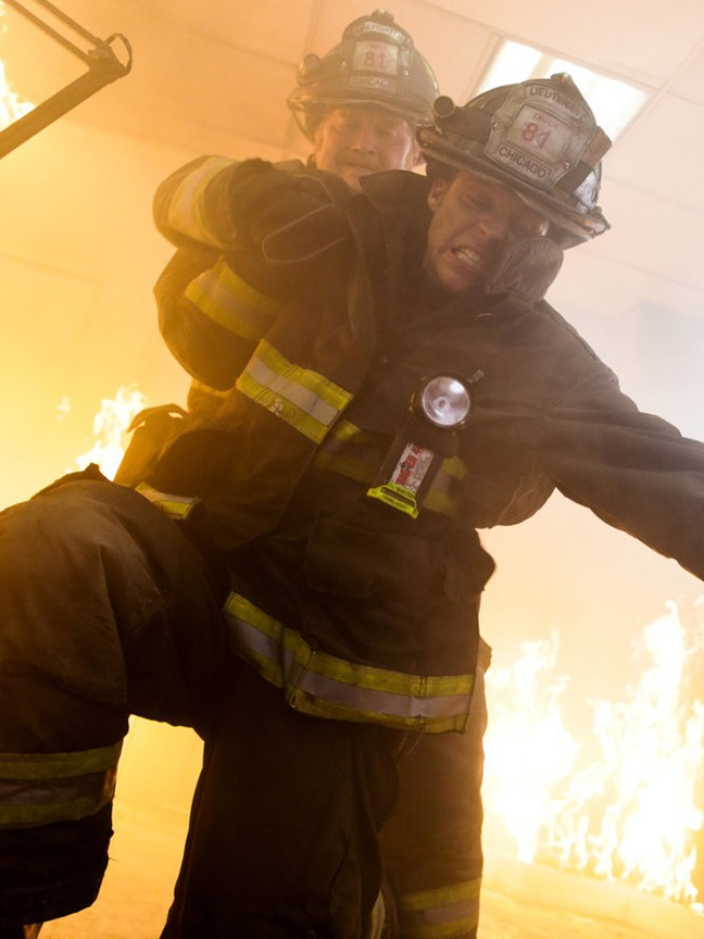 Chicago Fire - Season 2 Episode 11: Shoved In My Face