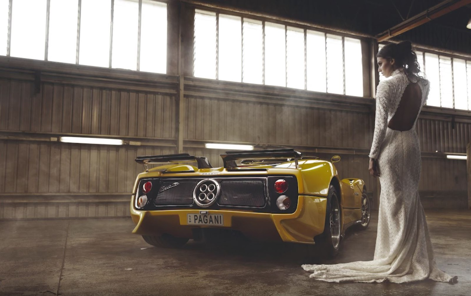 Behind The Scenes with the Pagani Zonda Roadster by Easton Chang