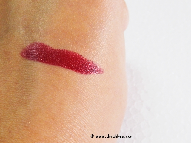 Milani Color Statement Lipstick Cabaret Blend Swatch