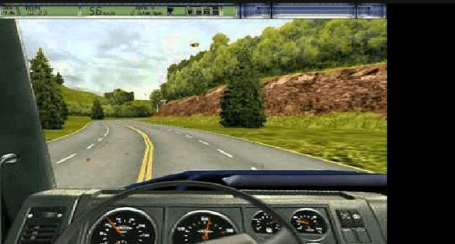 تحميل لعبة الشاحنات king of the Road مضغوطة