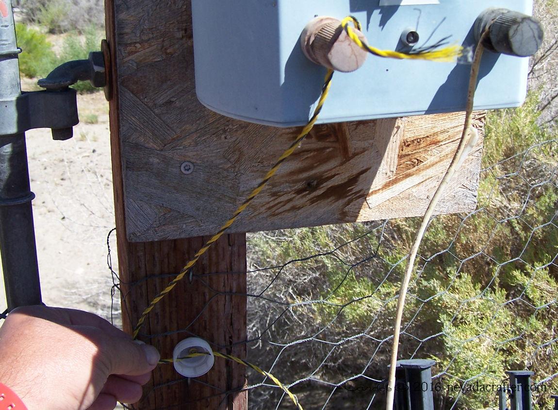 Garden44 Diy Electric Fence Insulators