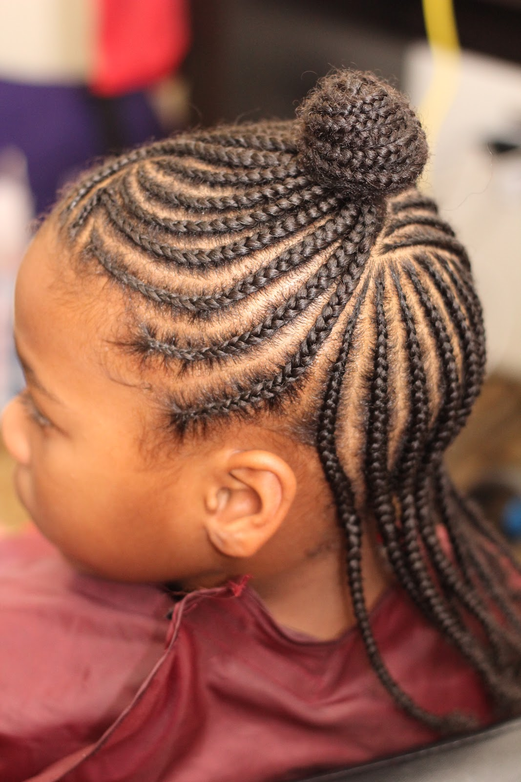 Braidology with SheMarie Cornrows for Children by