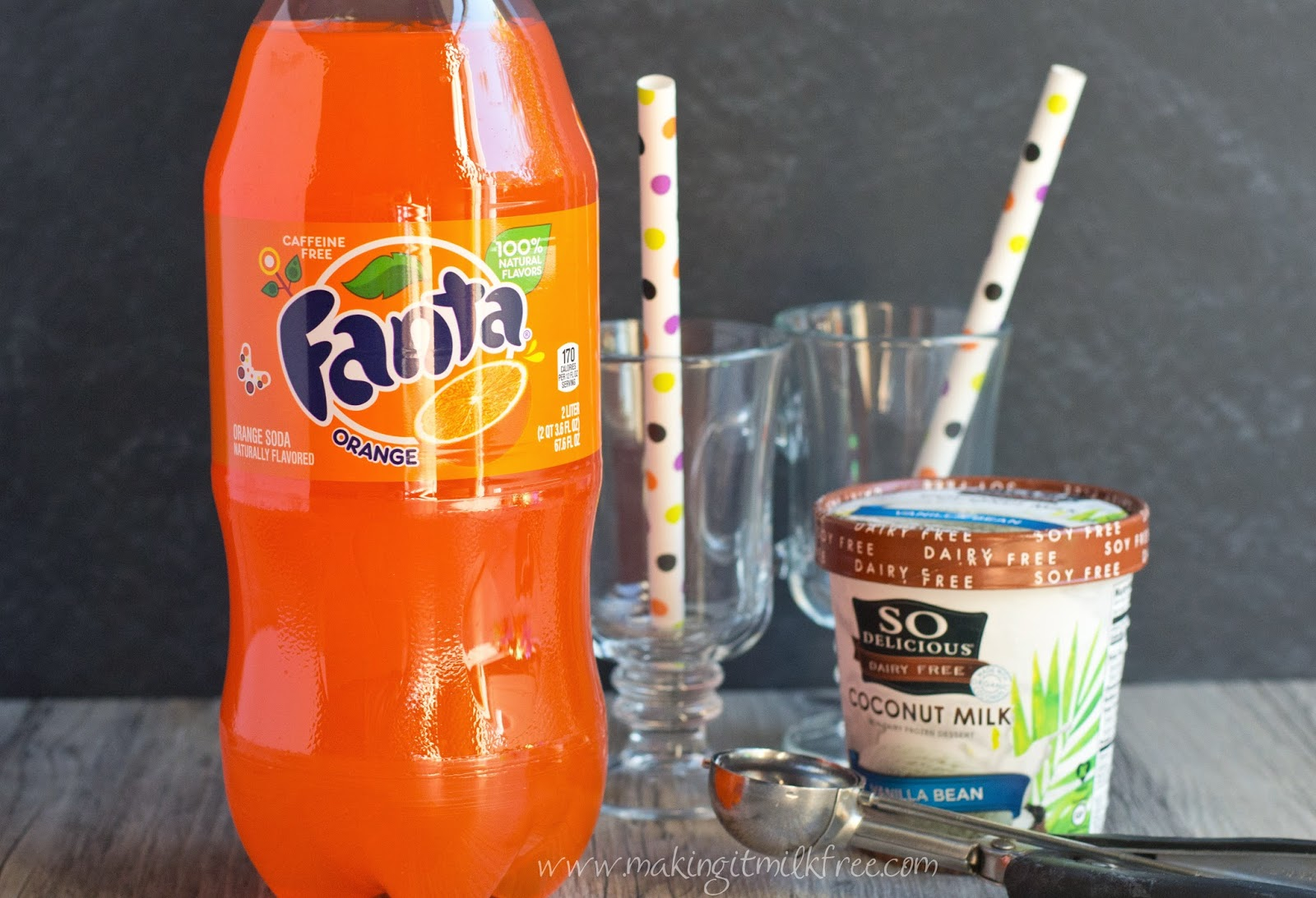 #fanta #halloween #snacks #creamsicle #floats