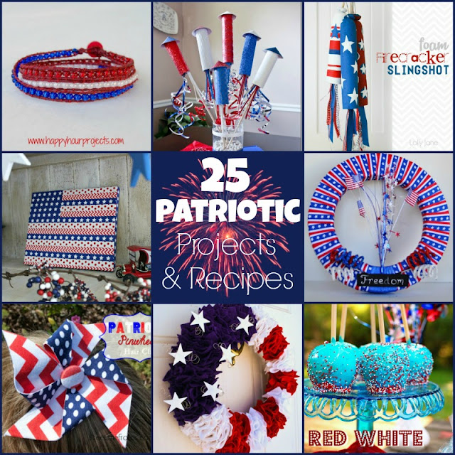 25 Patriotic Projects and Recipes
