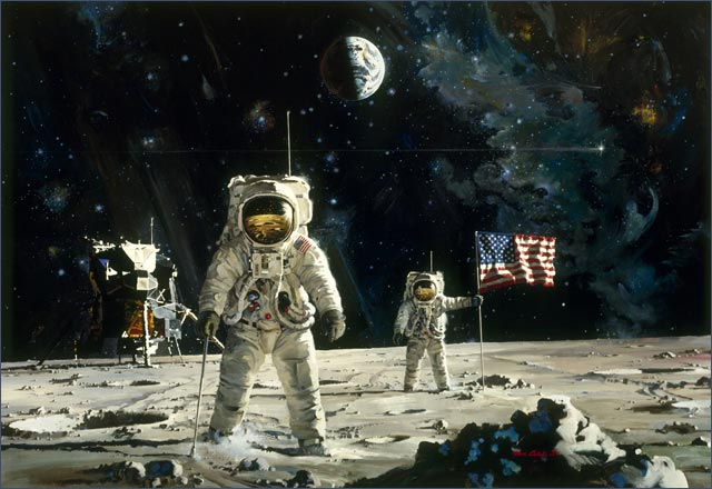 first manned moon landing date - photo #39