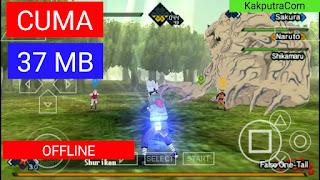 (37 MB) Naruto Kizuna Drive Ukuran Kecil PPSSPP Android Offline