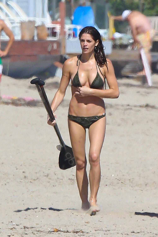 Ashley Greene Sexy Athletic Bikini Body in Malibu ...