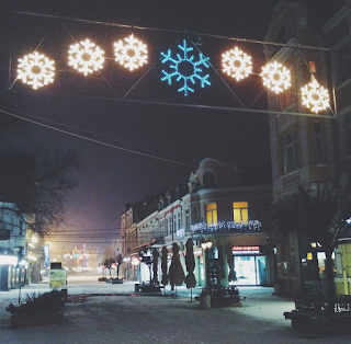 Rousse, Bulgaria, Русе, България, Сняг