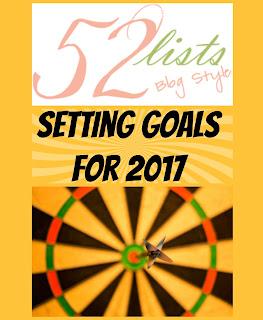 52 LIsts #52 - Setting Goals for 2017 on Homeschool Coffee Break @ kympossibleblog.blogspot.com