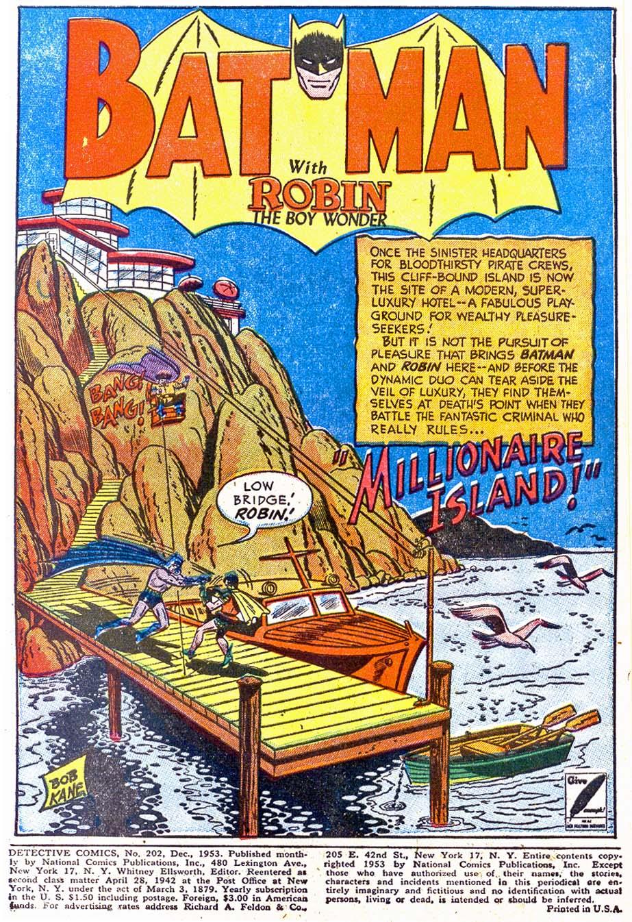 Detective Comics (1937) 202 Page 2