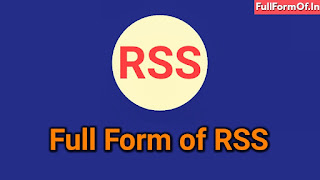 Full Form of RSS (Feed)
