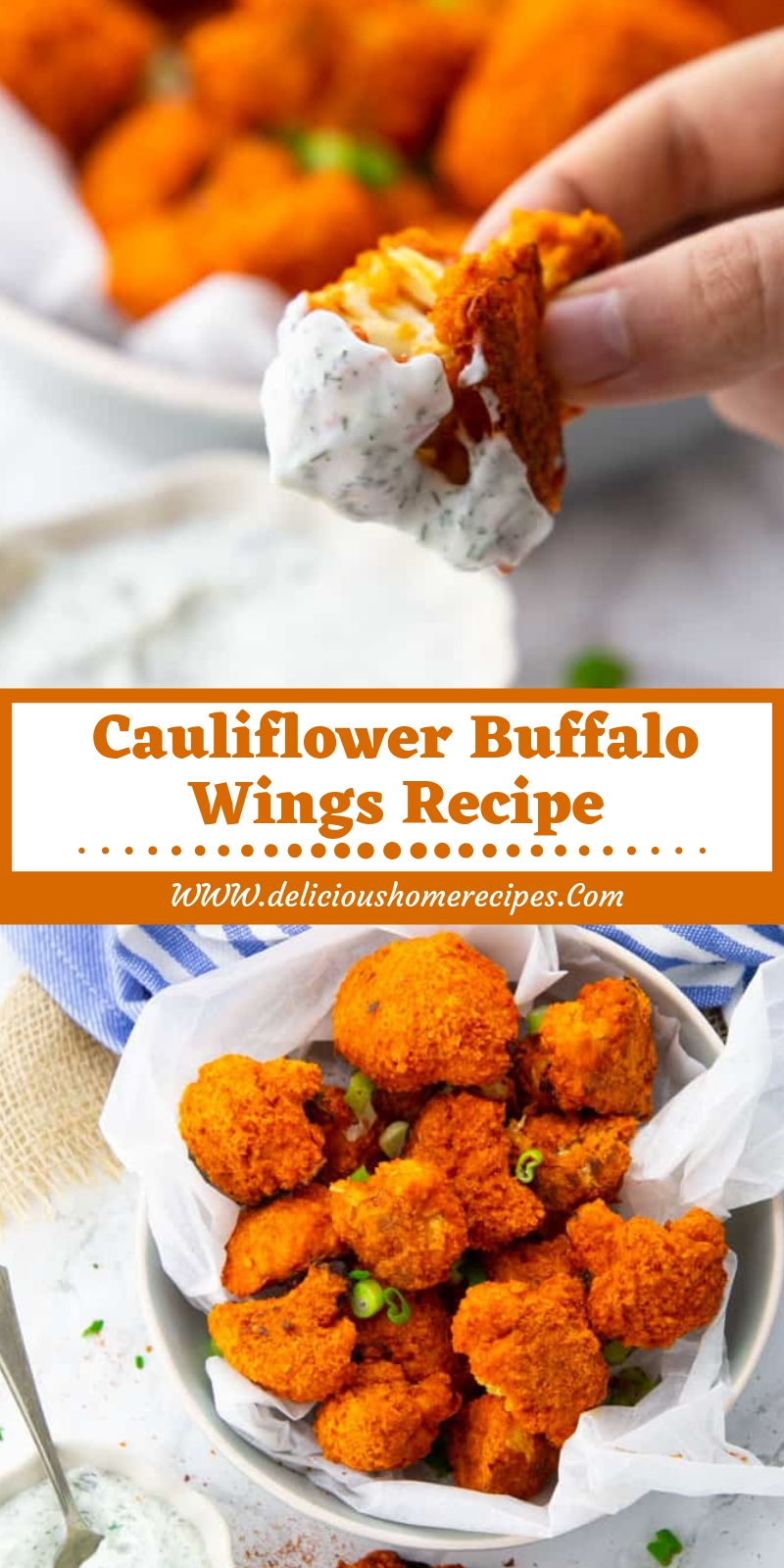 Cauliflower Buffalo Wings Recipe