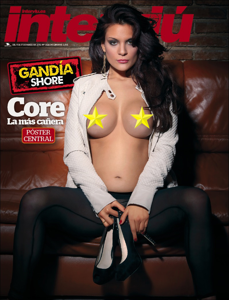 Core De Gandia Shore Se Desnuda En Interviu