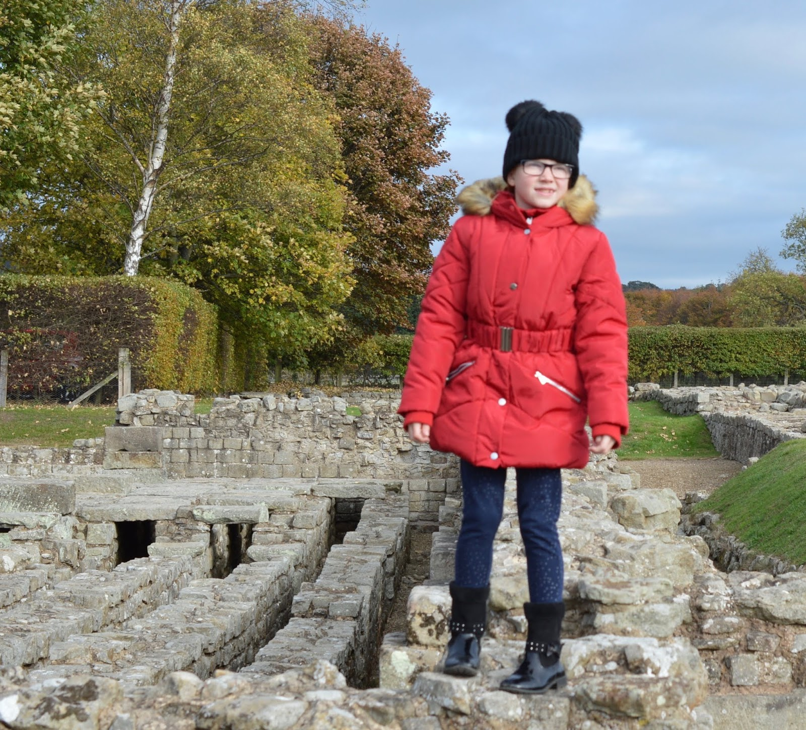 A lovely pub lunch & a trip to Corbridge Roman Town with kids  - roman ruins