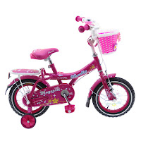 12 family magenta ctb sepeda anak